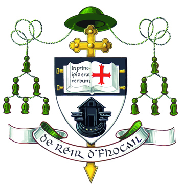 Bishop Kelly's crest