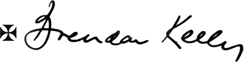 Bishop Kelly's signature